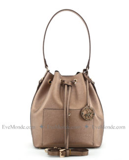Women handbags from Beverly Hills Polo Club 591 - Bakır