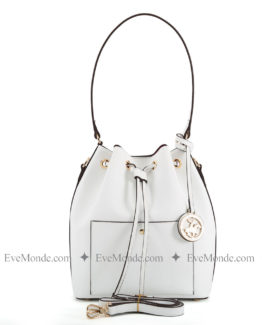 Women handbags from Beverly Hills Polo Club 591 - Beyaz