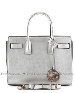 Women handbags from Beverly Hills Polo Club 594 - Gümüş