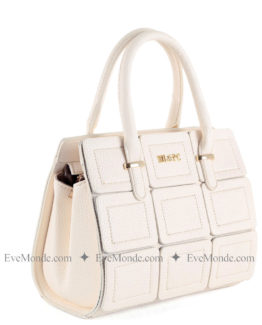Women handbags from Beverly Hills Polo Club 596 - Cream