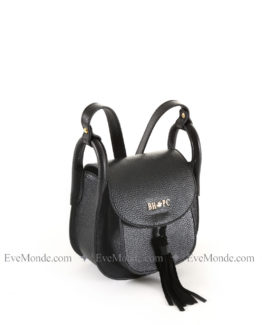 Women handbags from Beverly Hills Polo Club 4723 - Black