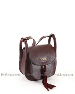 Women handbags from Beverly Hills Polo Club 4723 - Claret Red
