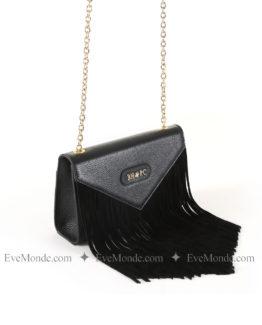 Women handbags from Beverly Hills Polo Club 4705 - Black