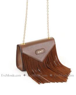 Women handbags from Beverly Hills Polo Club 4705 - Tan