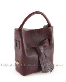 Women handbags from Beverly Hills Polo Club 2529 - Claret Red