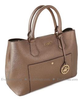 Women handbags from Beverly Hills Polo Club 589 - Bronz
