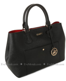 Women handbags from Beverly Hills Polo Club 589 - Black
