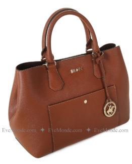 Women handbags from Beverly Hills Polo Club 589 - Tan