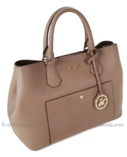 Women handbags from Beverly Hills Polo Club 589 - Brown