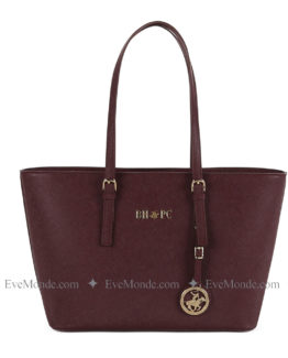 Women handbags from Beverly Hills Polo Club 562 - Claret Red