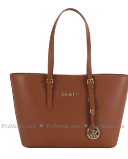 Women handbags from Beverly Hills Polo Club 562 - Tan