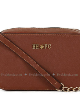 Women handbags from Beverly Hills Polo Club 592 - Tan