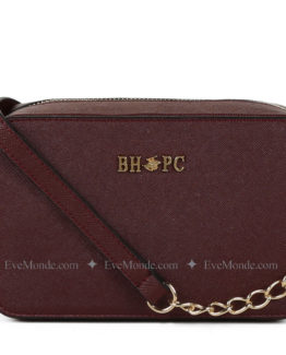 Women handbags from Beverly Hills Polo Club 592 - Claret Red
