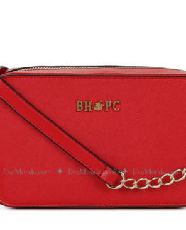 Women handbags from Beverly Hills Polo Club 592 - Red