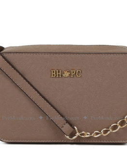 Women handbags from Beverly Hills Polo Club 592 - Beige
