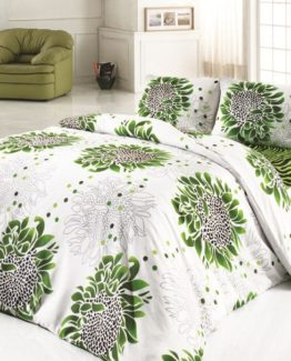 Baysal double  Duvet Cover Set  Afelia Green