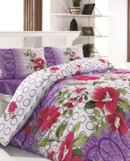 Baysal double  Duvet Cover Set  Bennu Lila