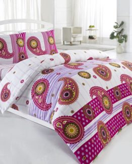 Baysal double  Duvet Cover Set  Dolce Pink