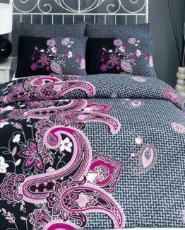 Baysal Single Duvet Cover Set  Hayat Pink