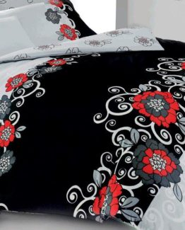 Kupon Single Duvet Cover Set  Viola Black 2