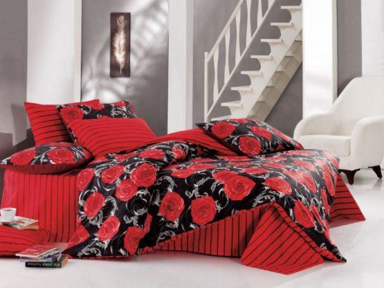 Kupon Single Sleep set Victoria red