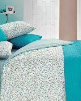 Kupon Buddy Yatak Örtülü Duvet Cover Single-turquoise