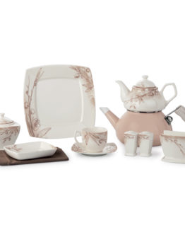 Schafer 40 Piece Diva Fine Bone Collection Breakfast Set SHF-530