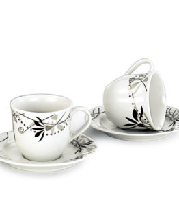Schafer 12 Pieces Rolinda Porcelain Tea Cup SHF-10020