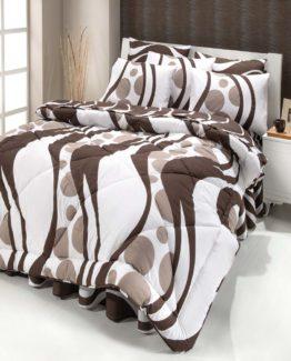 Kupon double  Sleep set Conford brouwn 2