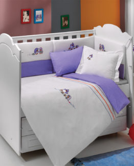 Soley Baby Duvet Cover Set  Penguen
