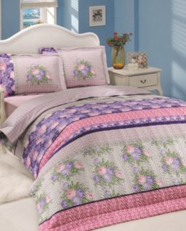 Soley Single Ranforce Duvet Cover Set -Violette Lila V2