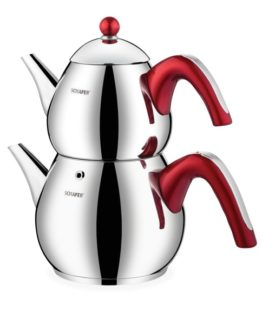 Schafer 4 Pieces Tea Chef Large size Kettles Red