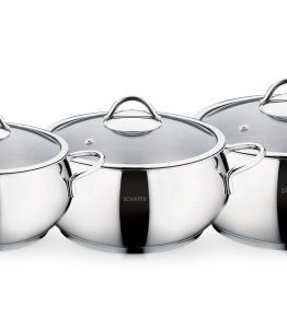 Schafer 6 Pieces Kochtopf pot Set