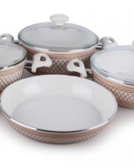 Remetta 7 Pieces Ceramico Deluxe pot Set RD-410