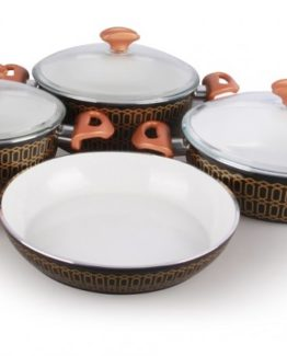 Remetta 7 Pieces Ceramico Deluxe pot Set RD-411