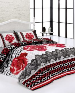 Belenay double  Sleep set-roseşah red