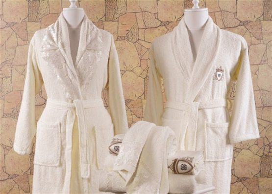Minteks Cream-White 6`lı Family set-Derya