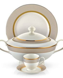 Schafer 87 Blume Collection Fine Bone Dinner set SHF-16001