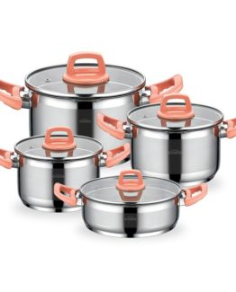 Schafer 8 Pieces Filter Chef Pembe pot Set