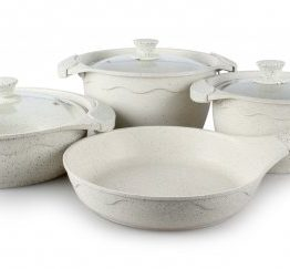 Remetta 7 Pieces Granit Plus pot Set