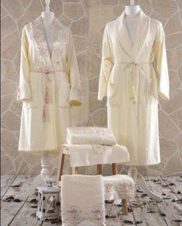 Minteks Contes Ophelia Family set (Cream-Cream)