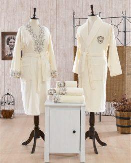 Minteks Contes Pamela Family set (Cream-Cream)