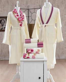 Minteks Pastoral Casablanca Family set(Cream-Cream)
