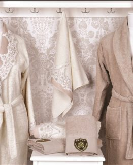 Minteks Princes Dianna Family set (Cream-S.brouwn)