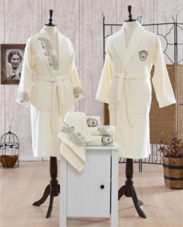 Minteks Princes Maura Family set (Cream-Cream)