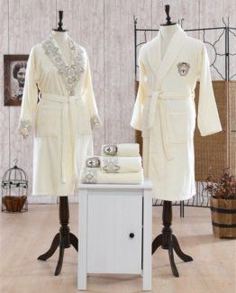 Minteks Romantic Karla Family set (Cream-Cream)