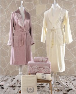 Minteks Romantic Odes Family set (Cream-rosekurusu)