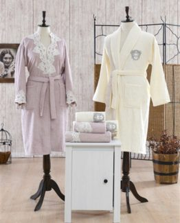 Minteks Romantic Rachelle Family set (Cream-rosekurusu)