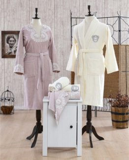 Minteks Romantic Rio Family set (Cream-rosekurusu)