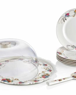 Schafer 9 Prç Lilly Pasta Servis Set SHF-28079